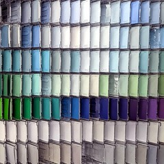 Colors, colors, and more #colors in the #paint isle.