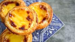 Portugalsku00e9 pudingovu00e9 tortiu010dky (Pastu00e9is de Nata)