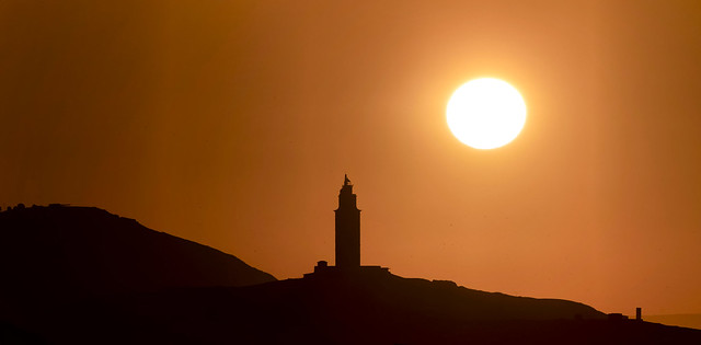 -HUNTING SUNSETS-  panorámica con teleobjetivo