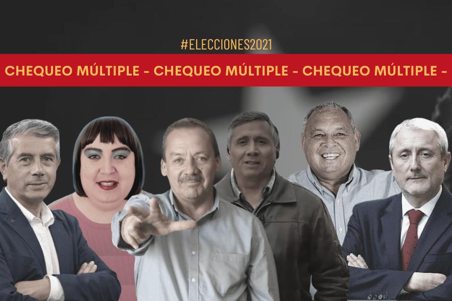 Chequeo múltiple: Propuestas de los candidatos a la gobernación de la R. Valparaíso