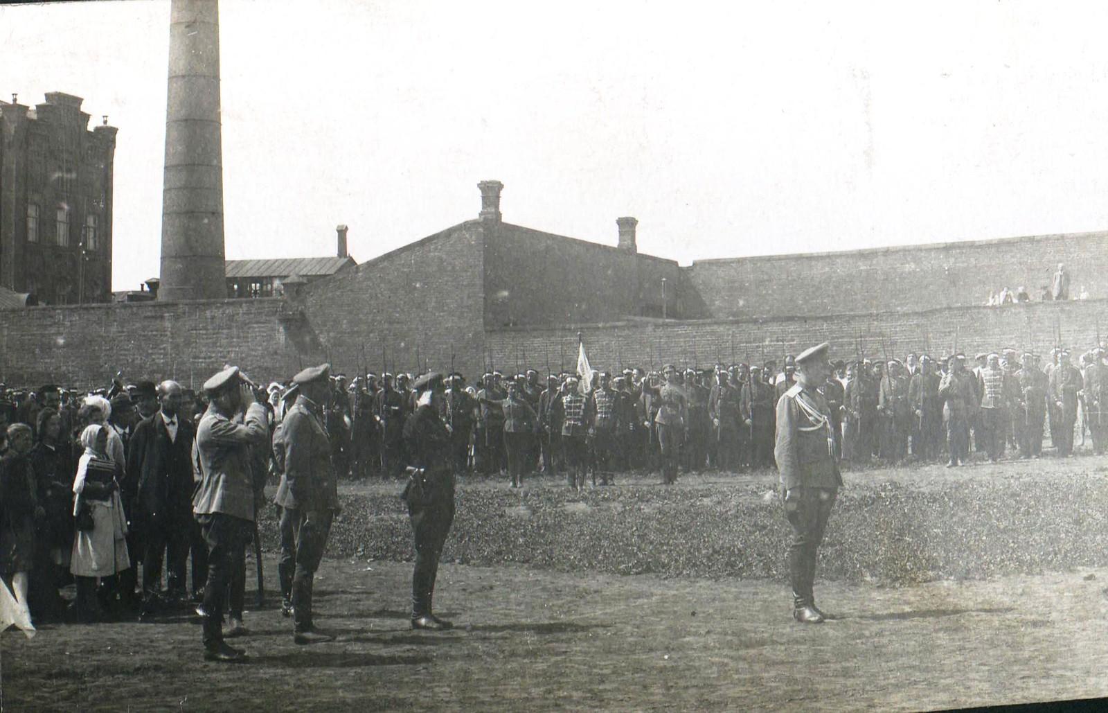 76. 1919. На параде Донской армии. Ростов-на-Дону
