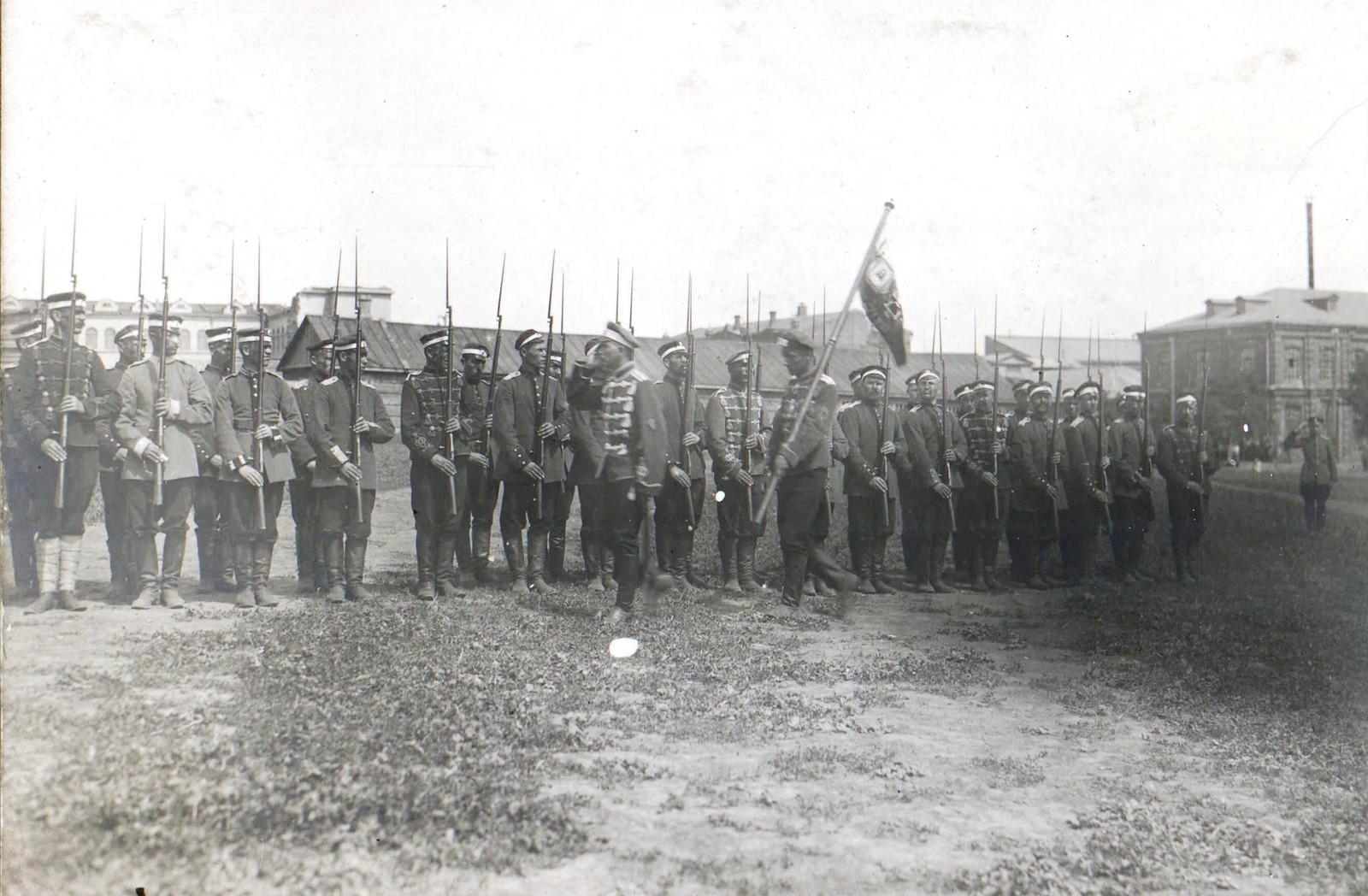73. 1919. На параде Донской армии. Ростов-на-Дону