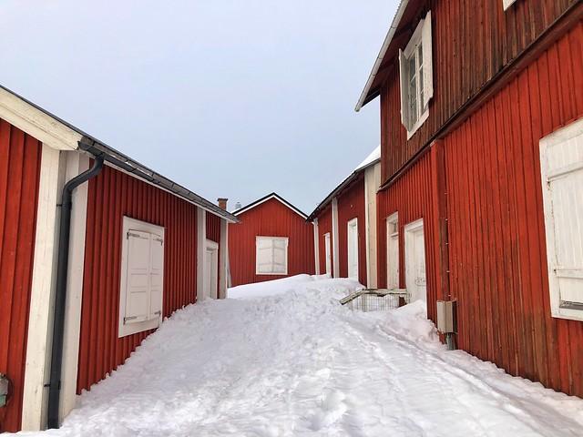 Calle de Gammelstad (Suecia)