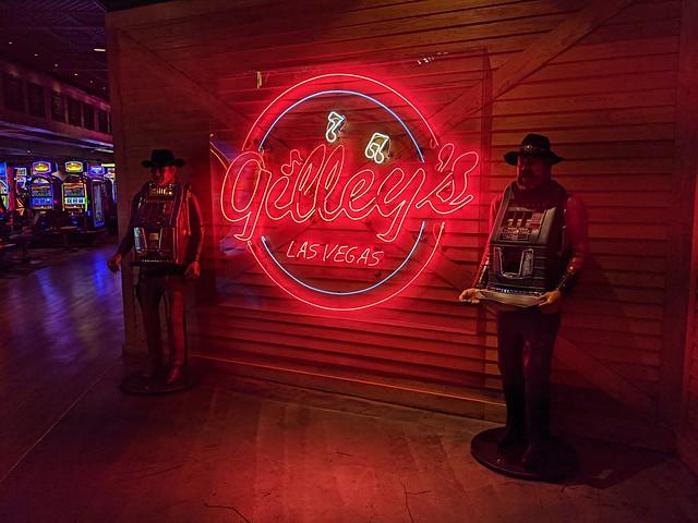 Living Las Vegas — Tuesday/Day Three — Dance The Cowboy Cha-Cha With Your Woman Here — Gilley's Saloon — Treasure Island Hotel & Casino — Coronavirus Las Vegas March 2021