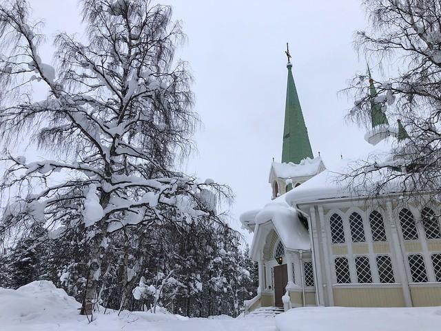 Catedral de Jokkmokk (Laponia Sueca)