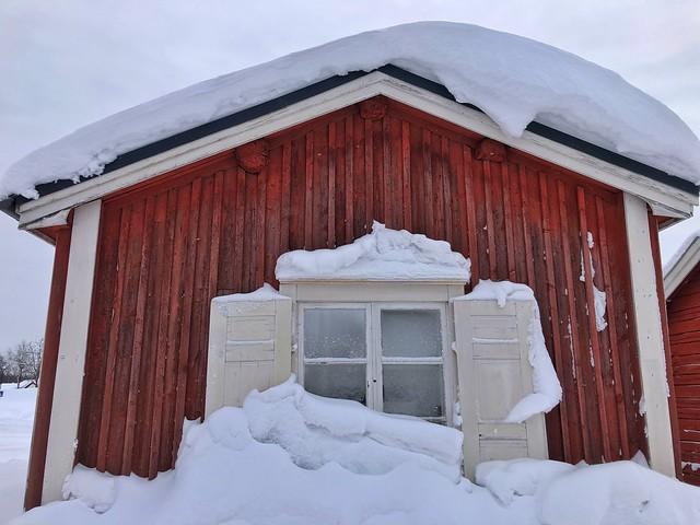 Gammelstad en invierno