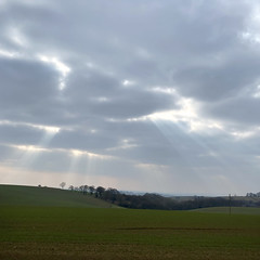 Sky near Ampleforth the other day.