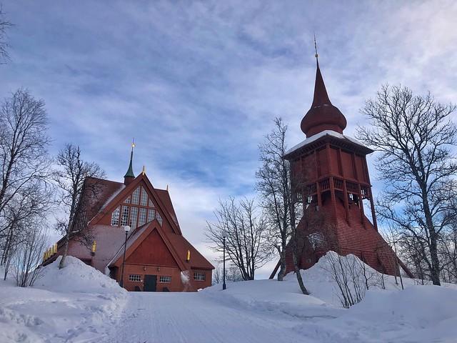 Catedral de Kiruna (Laponia Sueca)