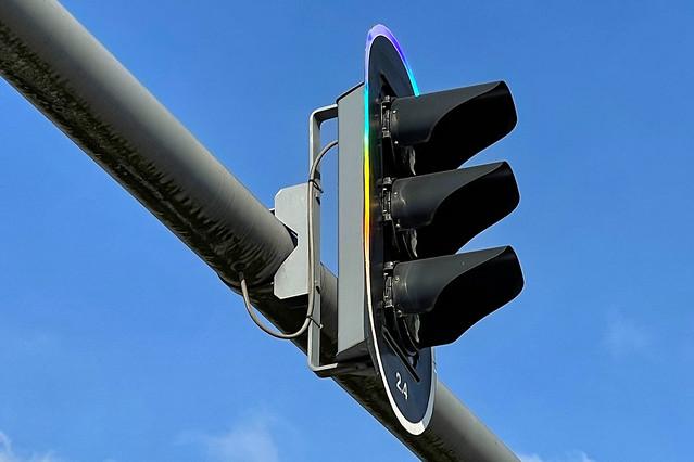 Rainbow Traffic Light