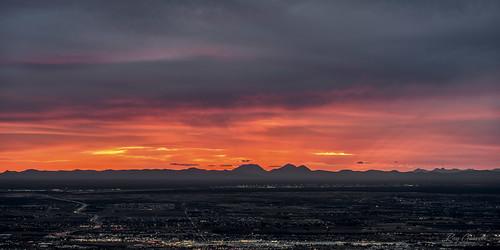 sunset elpaso texas mountains clouds sky night sonya7iii sonyfe100400mmf4556gmoss