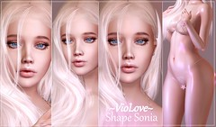 ~VioLove~ ♥ Shape Sonia♥ CATWA HDPRO Queen