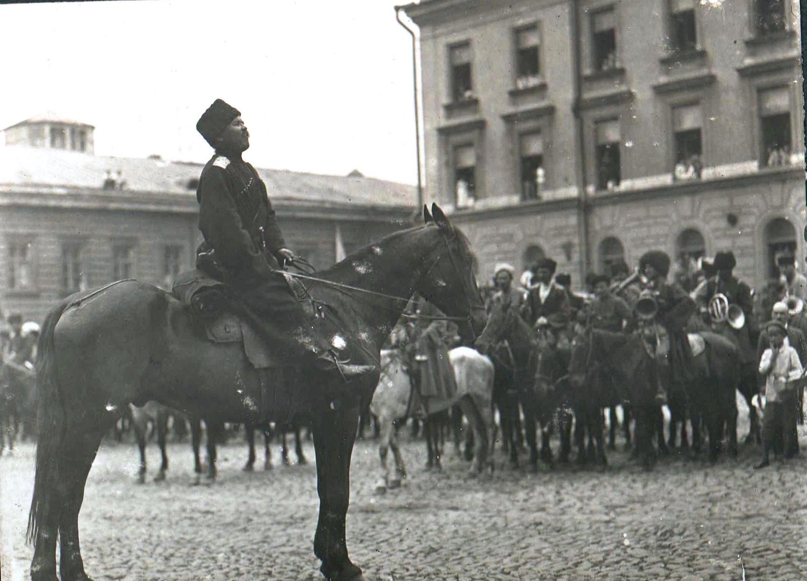 167. 1919. Чествование генерала Кутепова в Харькове