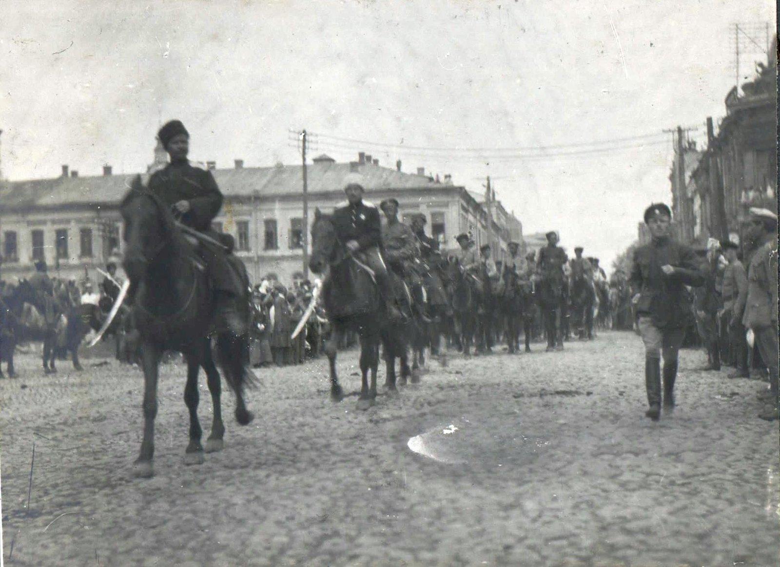 157. 1919. Чествование генерала Кутепова в Харькове