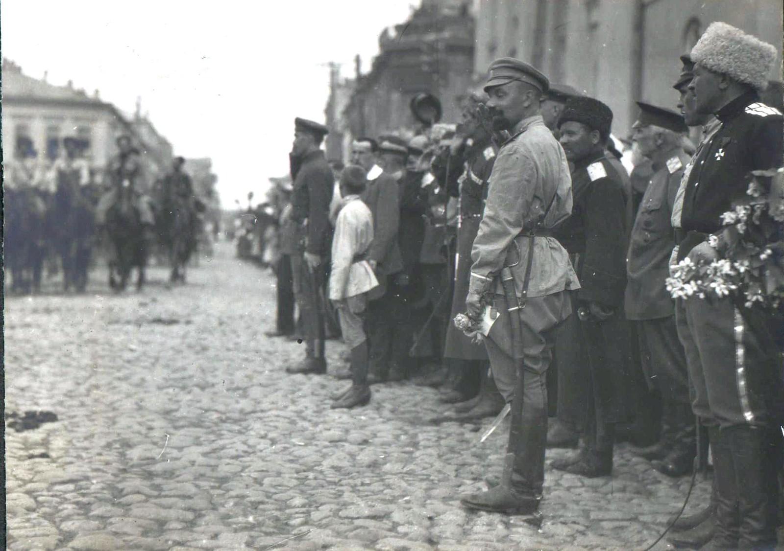 155. 1919. Чествование генерала Кутепова в Харькове
