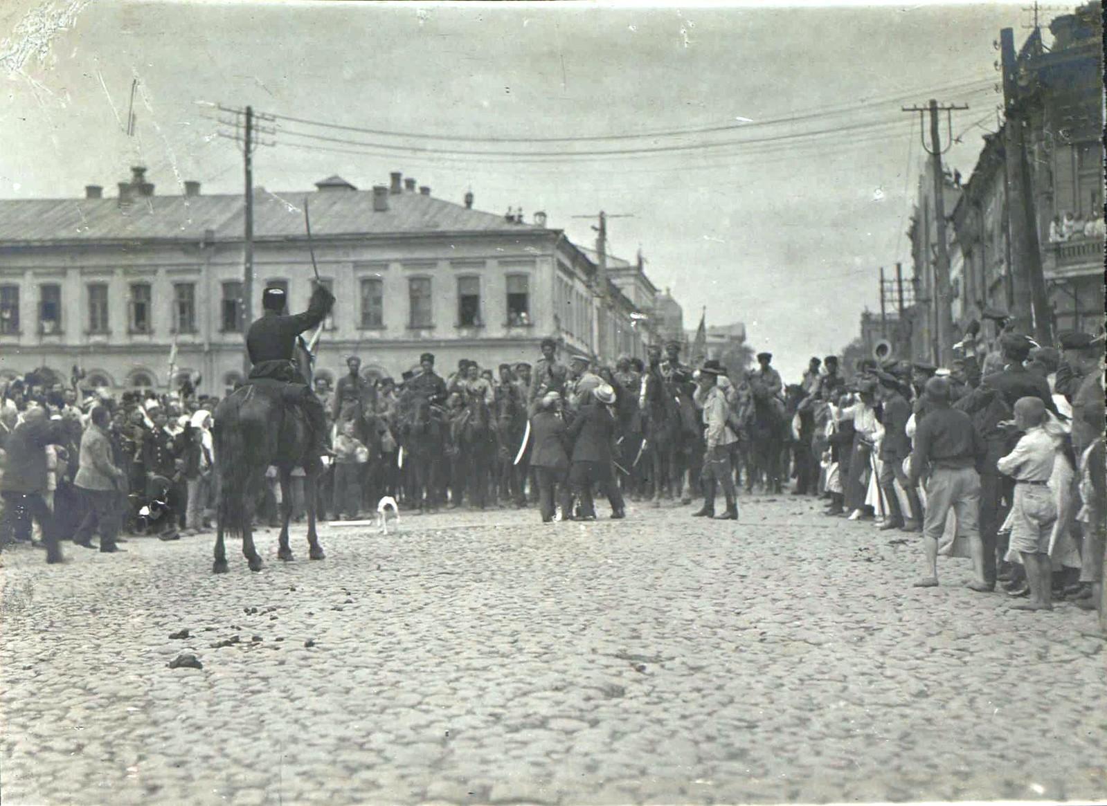 153. 1919. Чествование генерала Кутепова в Харькове