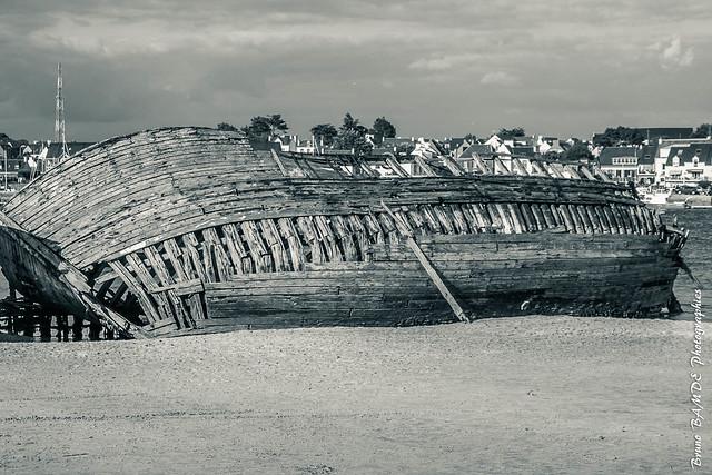 Cimetière Bateaux Le Magouer - Plouhinec - Morbihan - Brittany-3