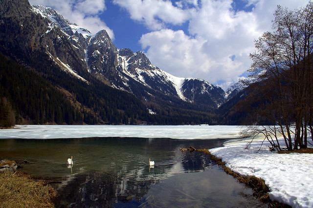 Spring comes to the Dolomites