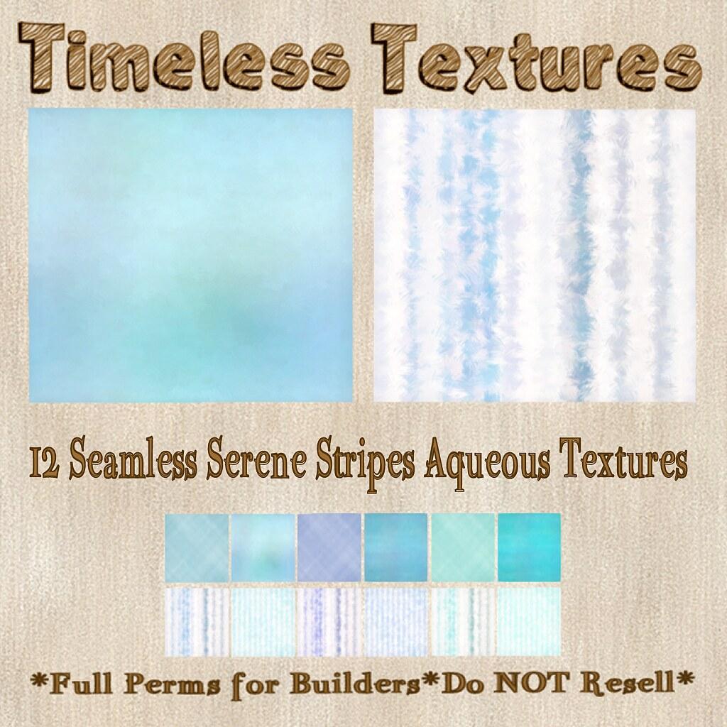 TT 12 Seamless Serene Stripes Aqueous Timeless Textures