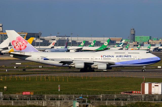 China Airlines 中華航空 Boeing 747-409 B-18215