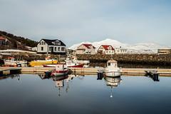 Day in village Hjalteyri