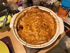 8 Dec 2020 - James' nice chicken pie