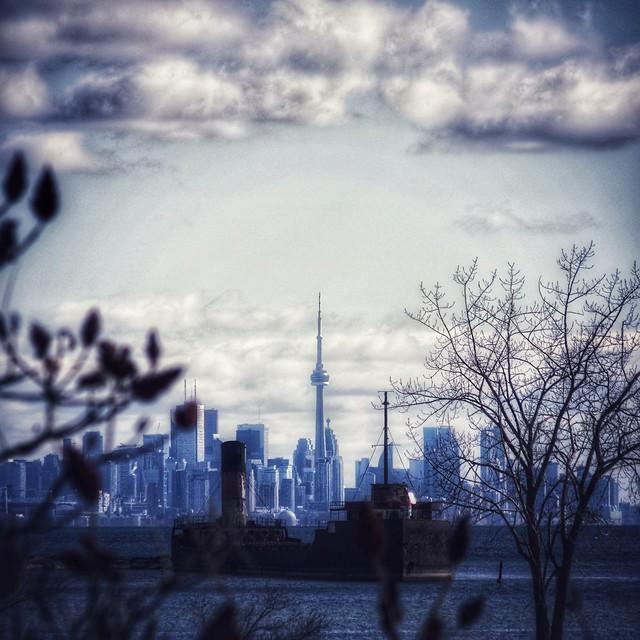 Toronto Skyline from Port Credit