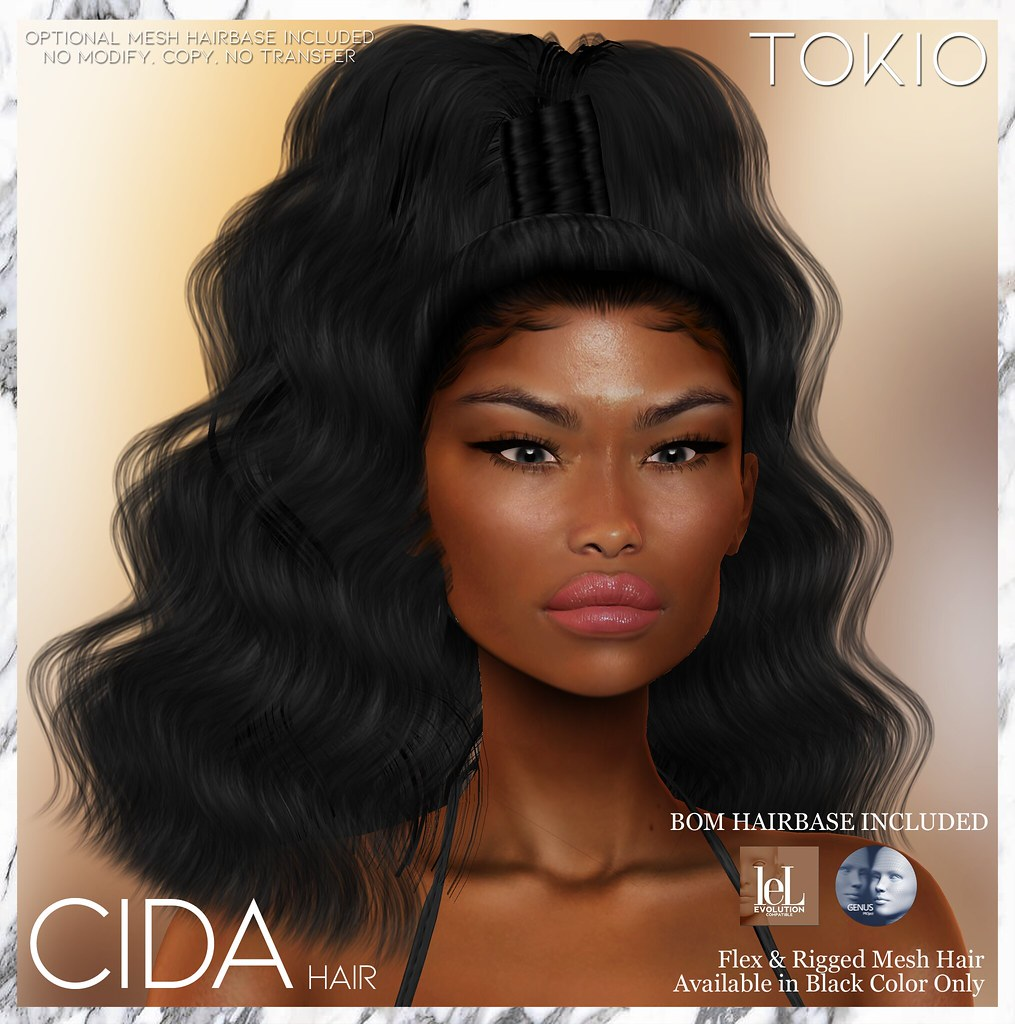 TOKIO Hair – CIDA – ENERGY Event L$50 @Mainstore!!