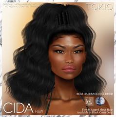 TOKIO Hair - CIDA - ENERGY Event L$50 @Mainstore!!