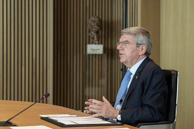 IOC Executive Board Meeting, Lausanne, March 2021