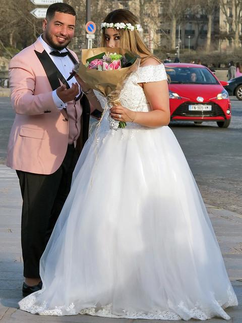 Young Maghrebi newlyweds
