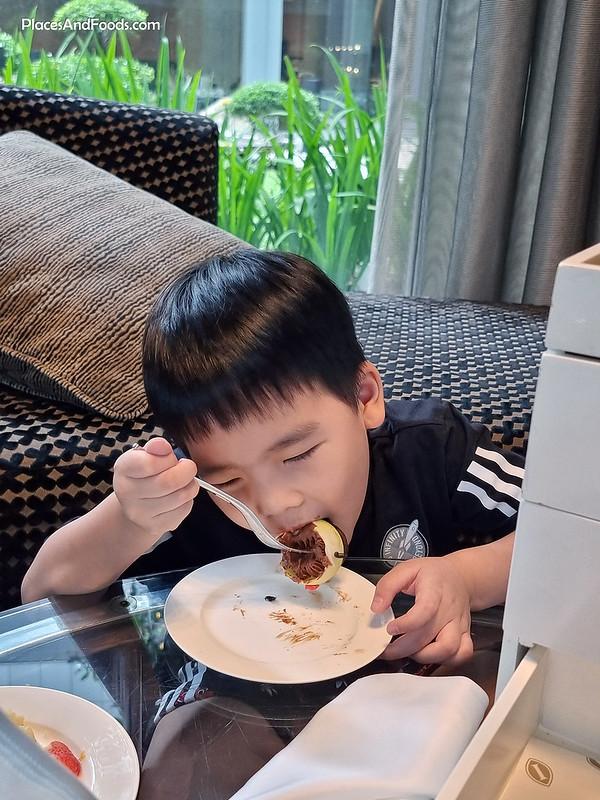 intercontinental kl hotel high tea review