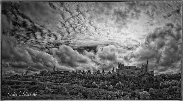 Panorama Alcázar de Segovia, Copyright aimarc@hotmail.com