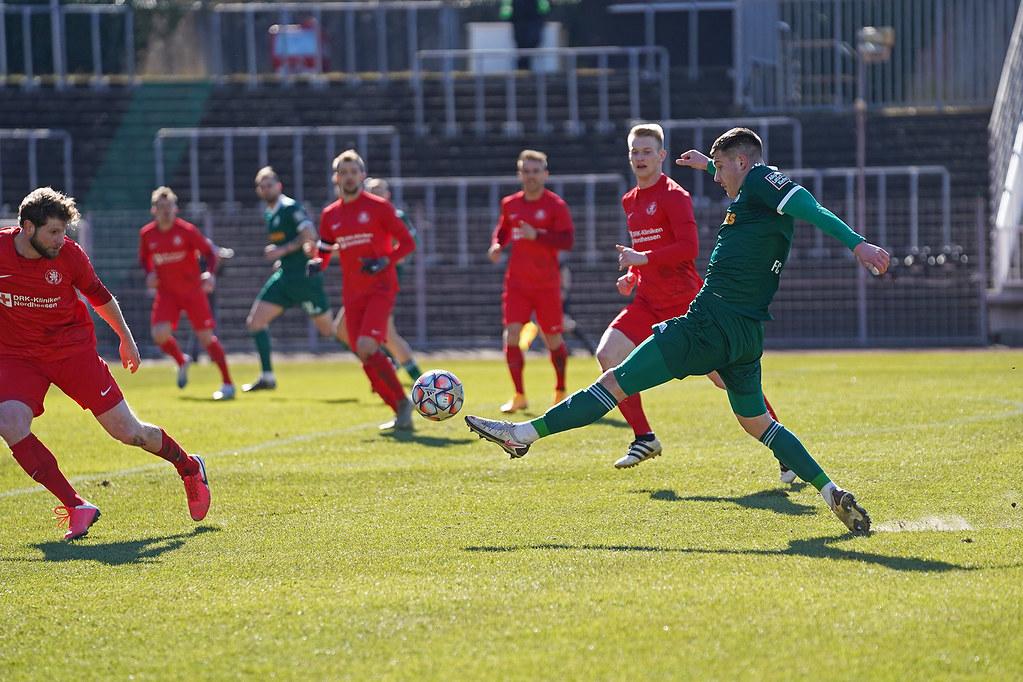 06.03.2021 | Saison 2020/21 | FC 08 Homburg | KSV Hessen Kassel