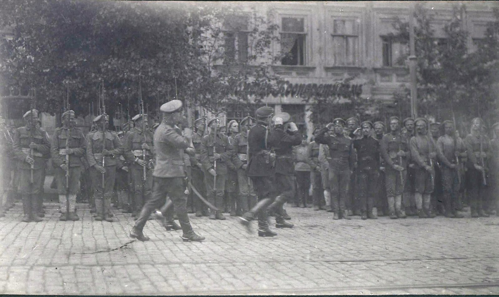 84. Парад 2-го Корниловского ударного полка. Ростов-на-Дону.
