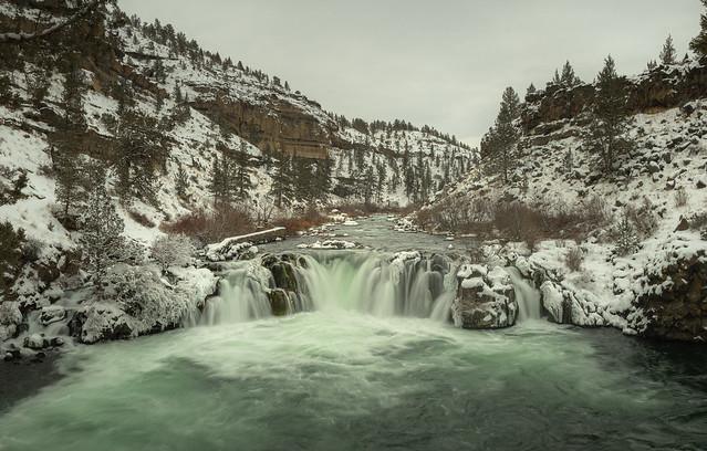 Steelhead Falls In Winter #2