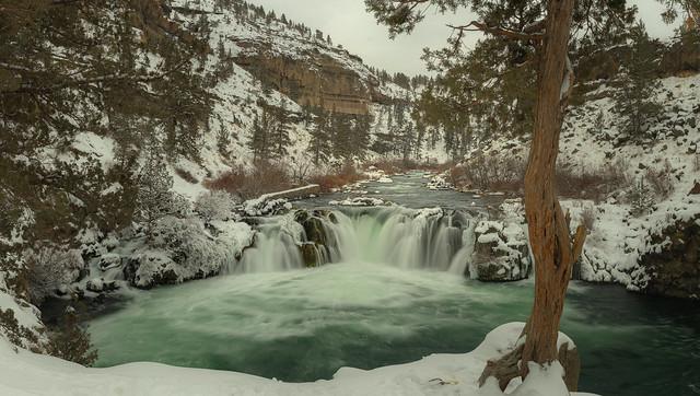 Steelhead Falls In Winter #1