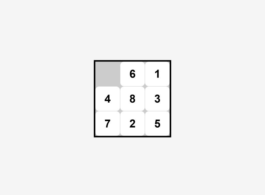 Simple Vue 8 Puzzle
