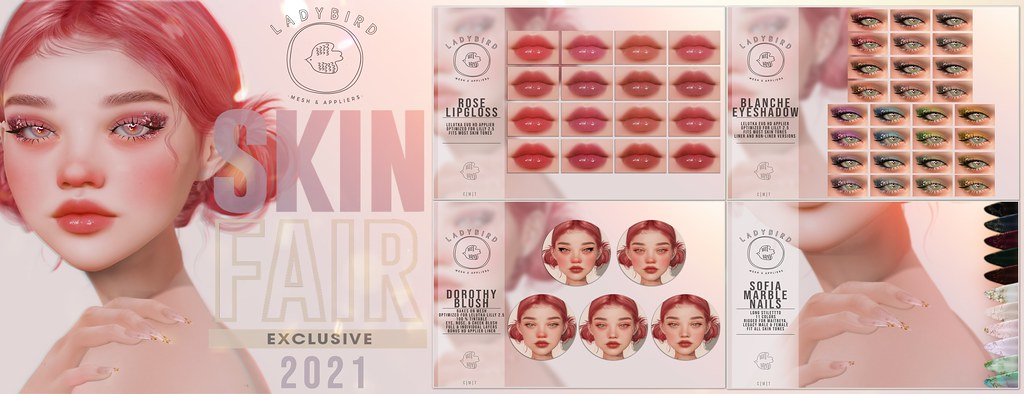Ladybird @ Skin Fair 2021 ♥