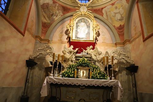 Poświęcenie kaplicy bł. Wincentego Kadłubka w Jędrzejowie