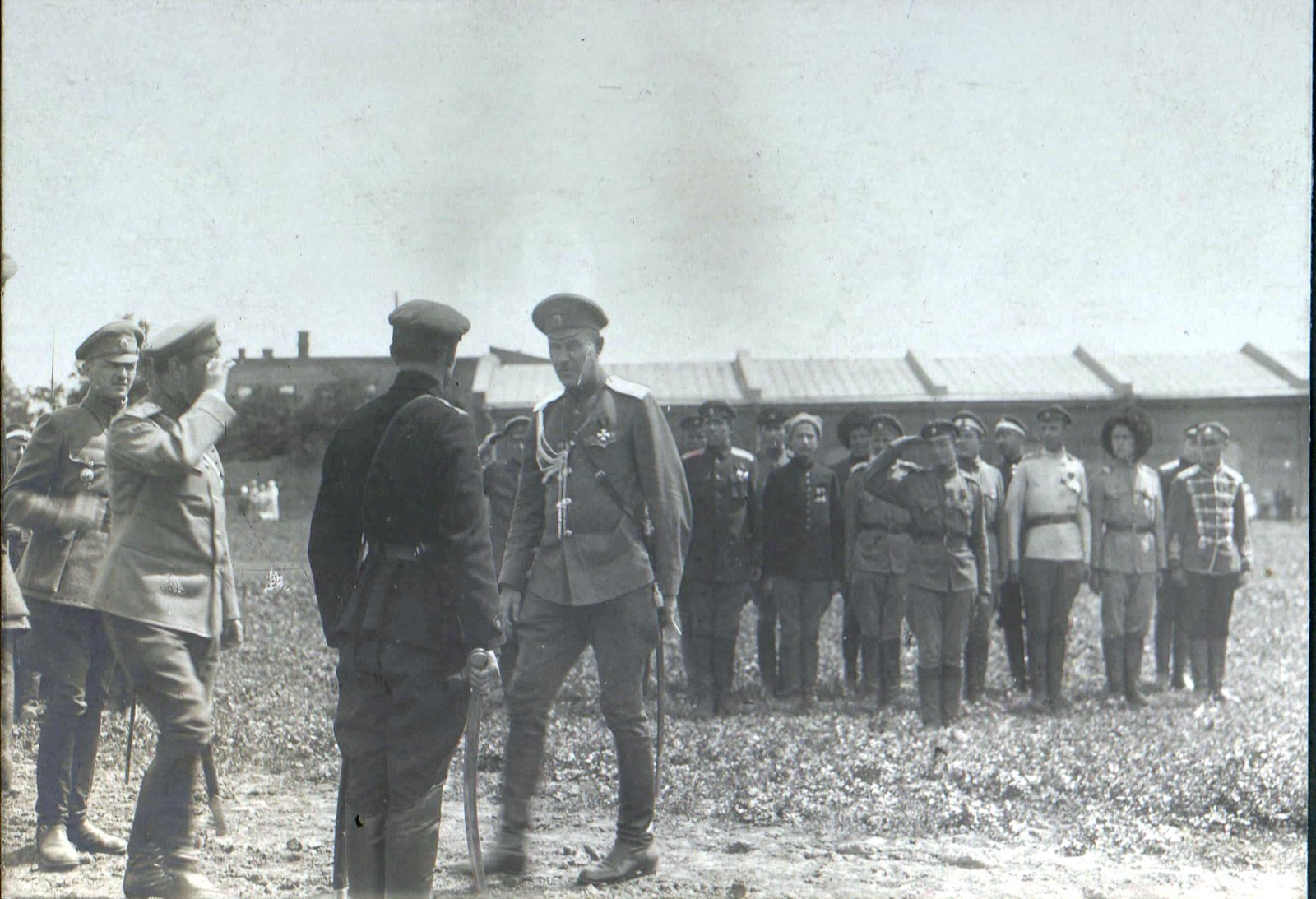 74. 1919.  На параде Донской армии. Ростов-на-Дону