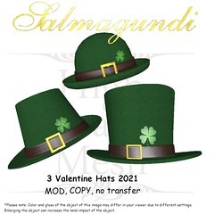 FREE Groupgift: 3 St. Patrick's Day Hats 2021