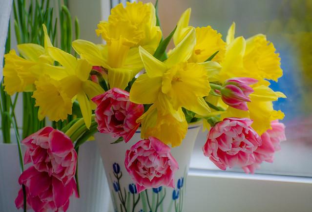 Easter flowers...