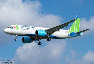 F-WWIN / VN-A Airbus A320-251N Bamboo Airways s/n 10372 - First flight * Toulouse Blagnac 2021 *