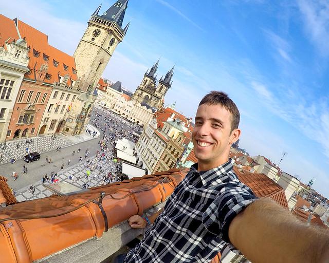 Diario de un Mentiroso en los mejores miradores de Praga