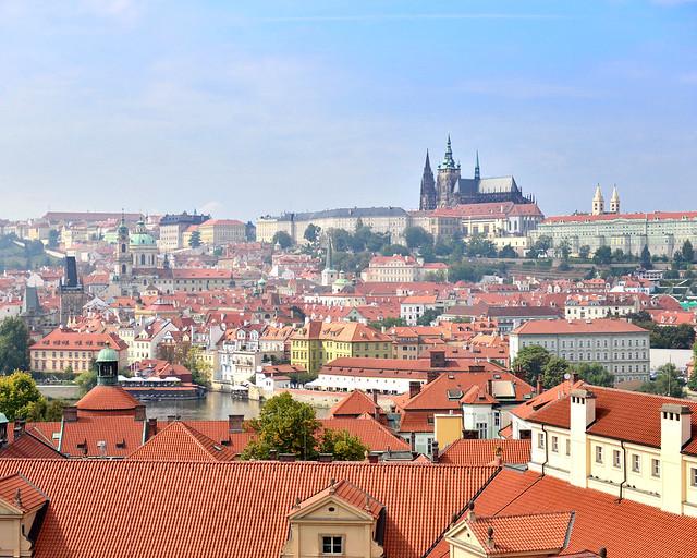 Vistas de Praga desde el Clementinum