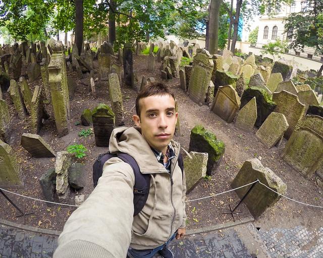 Antiguo cementerio de Praga