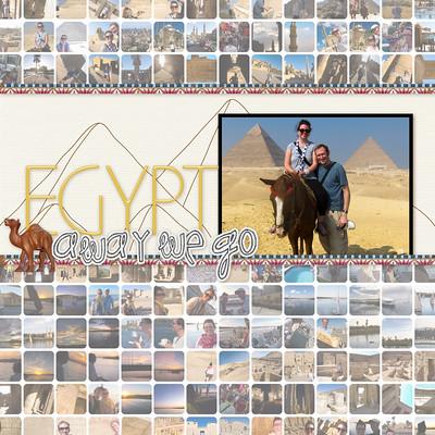 Egypt Digital Scrapbook Album