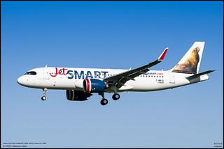 airbus A320 NEO JetSMART (F-WWDU) MSN10425, Future CC-AWR