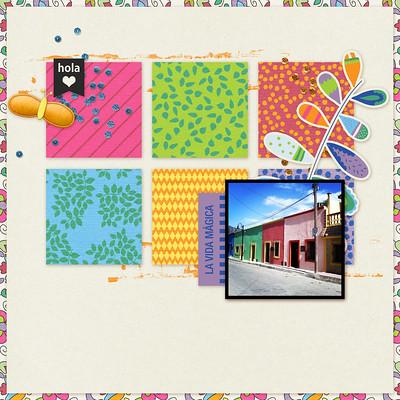 Mexico Digital Scrapbook Album