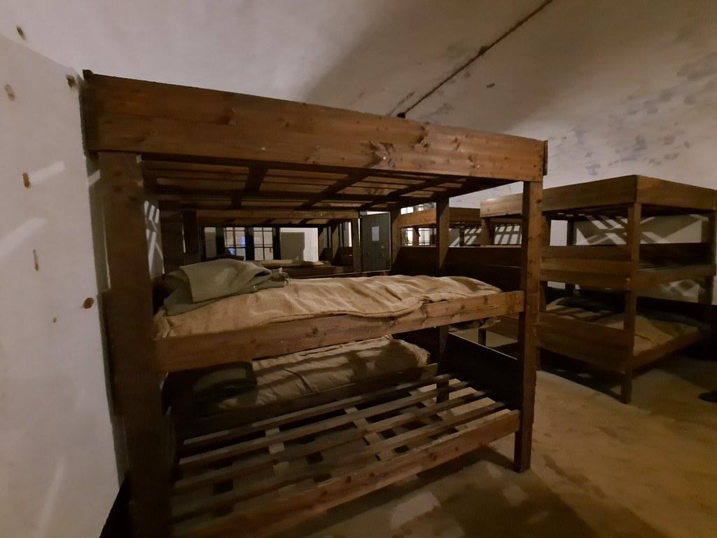 Habitaciones Campo de concentración de Breendonk